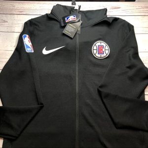 LA Clippers Nike Black Therma Flex Performance